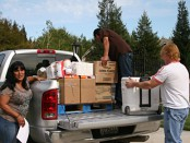 April 2012 Food Distribution