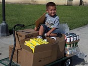 September 2012 USDA Food Distribution (FDIR) Held at the California Valley Miwok Tribe
