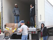 Recipients Thankful for the November 20th, 2012 USDA Food Distribution