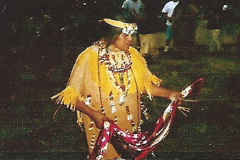 Tribal Elder Mildred Burley, Certified Indian Artisan and Traditional Miwok Basket Maker