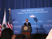 President Barack Obama Speaks at the 5th White House Tribal Nations Conference
