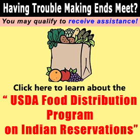 USDA Food Distribution Program on Indian Reservations