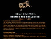 California Conference on American Indian Education (CCAIE) - Meeting the Challenge!