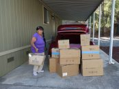 CVMT Hosts August Food Drive for Mother Lode Native Families - Mildred Burley
