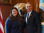 Alaskan leader Tara Sweeney becomes first female Alaska Native for assistant aecretary of Indian affairs.