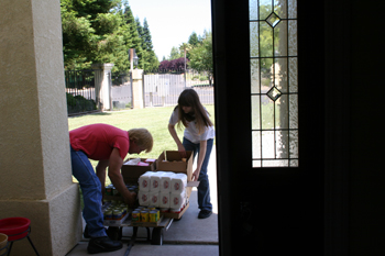 June USDA Food Distribution @ California Valley Miwok Tribal Offices