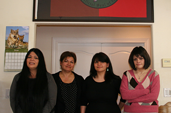 Governors' Tribal Advisor and Executive Secretary for the NAHC, Ms. Cynthia Gomez, Meets with CVMT