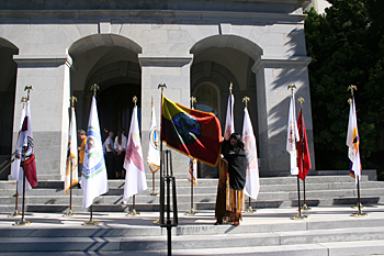 Tribal Flags Flown at the State Capitol – 46th Annual California Native American Day