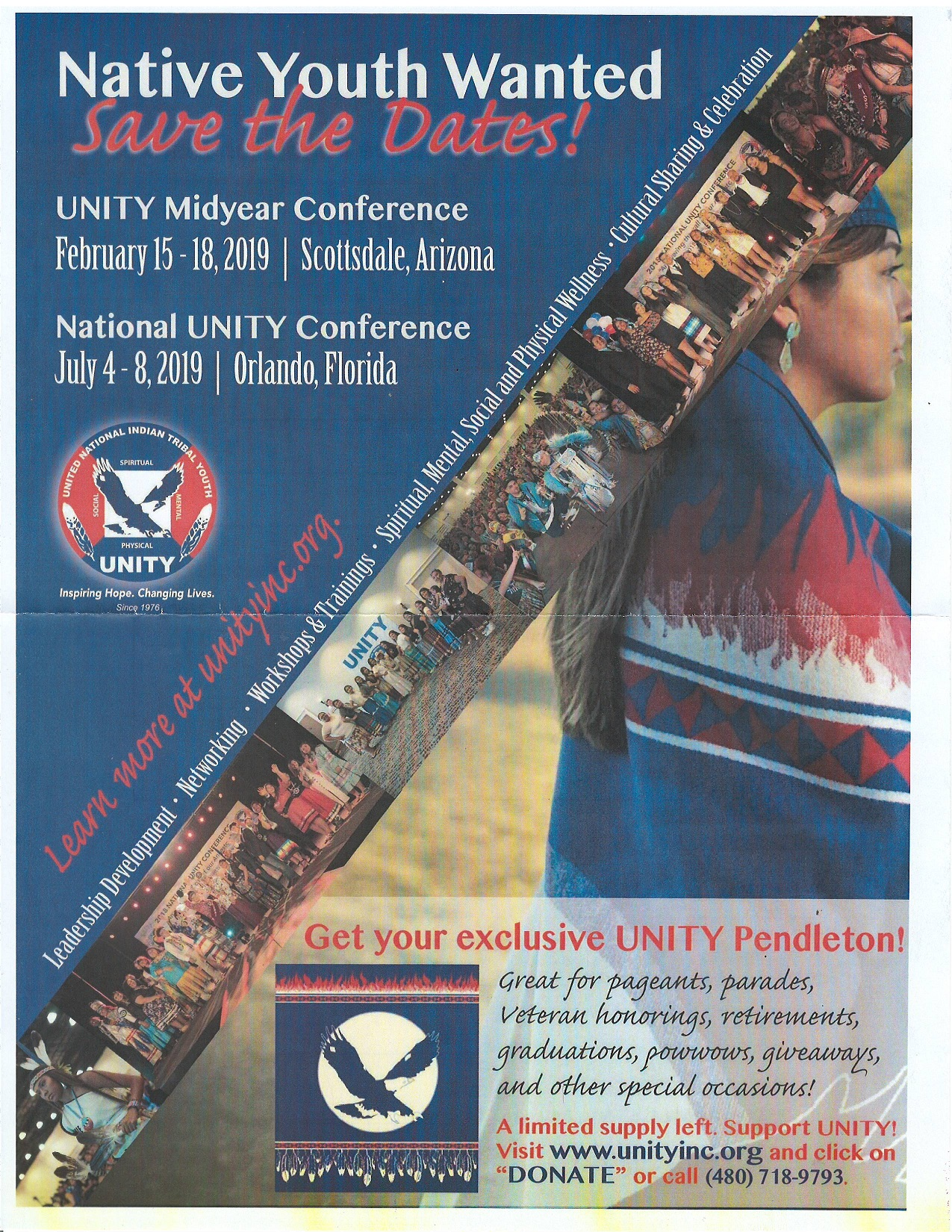 UNITY - United National Indian Tribal Youth Conferences