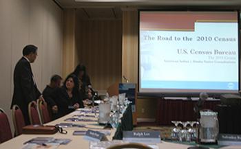 CVMT Attends 2010 Census Bureau Meeting