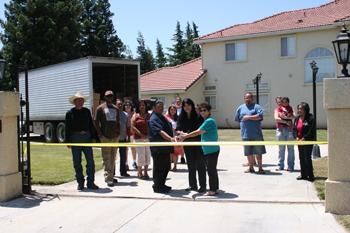 CVMT Hosts First USDA Food Distribution Event at Tribal Office