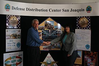 CVMT Partners with Defense Distribution Center, San Joaquin