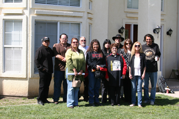 Ms. Elouise Brown Gives Presentation at California Valley Miwok Tribal Offices