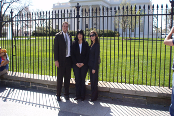 Chairperson Visits the White House