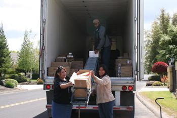 CVMT Hosts April 2010 USDA Food Distribution