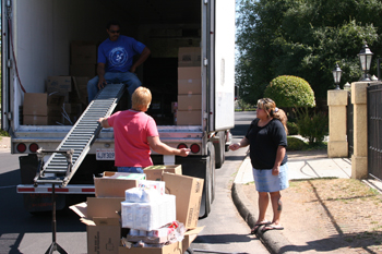 July USDA Food Distribution @ California Valley Miwok Tribal Offices