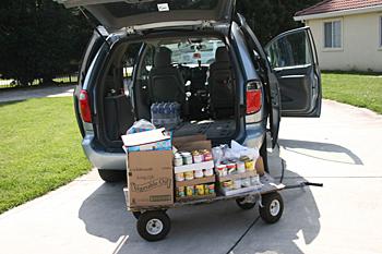 CVMT March 2011 Food Distribution