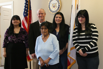 California Valley Miwok Tribe Meets with Congressman Jerry McNerney