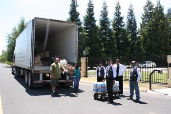 May Food Distribution at CVMT Offices