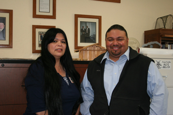 California Valley Miwok Tribe Meets with Merv George, Jr., of the U.S. Forest Service