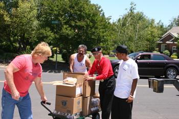 California Valley Miwok Tribe June 2011 Food Distribution