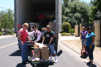 California Valley Miwok Tribe July 2011 Food Distribution