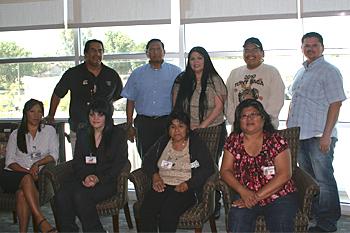 CVMT Meets With Tachi Yokut Tribal Officials of the Santa Rosa Rancheria