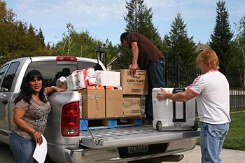 April 2012 Food Distribution