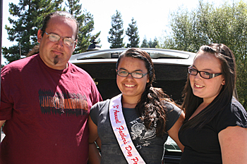 USDA Food Distribution for June 2012 & Ms. Karly Fountain, 2012-2013 Red Circle Pow Wow Princess