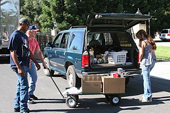 August 2012 USDA Food Distribution held at CVMT