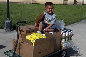 September 2012 USDA Food Distribution (FDIR) Held at the California Valley Miwok Tribe
