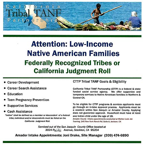 California Tribal TANF Partnership