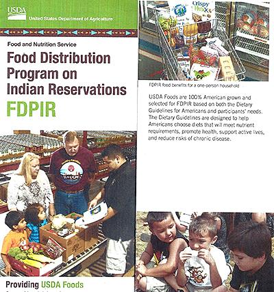 September 2014 USDA Food Distribution Program on Indian Reservations (FDPIR)
