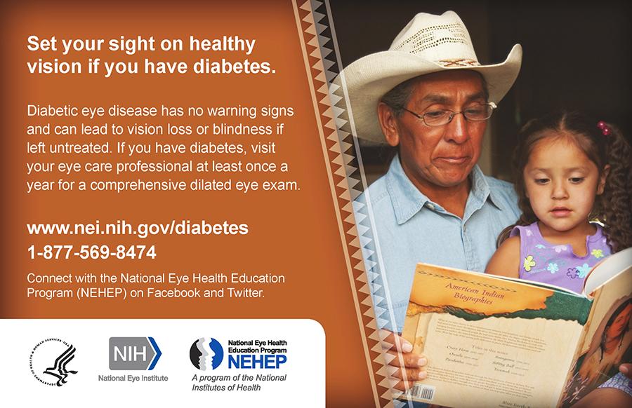 National Eye Health Education Program (NEHEP) - November is National Diabetes Month