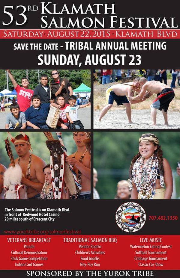 53rd Klamath Salmon Festival