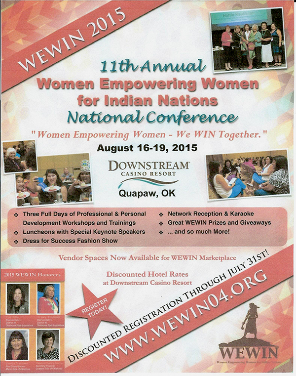 Women Empowering Women for Indian Nations