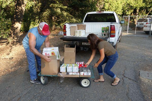 August 16th, 2016 Food Distribution Program - CVMT