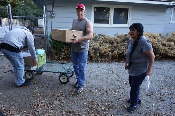 October 2016 Food Distribution Program