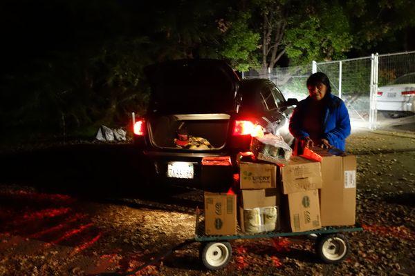 November 2016 Food Distribution Program - California Valley Miwok Tribe