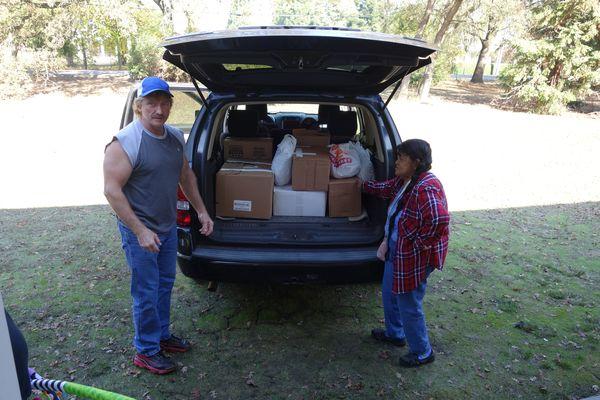 Food For Tribal Families Program, November 2017 - CVMT