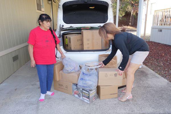 Food For Tribal Families Program, December 2017 - CVMT