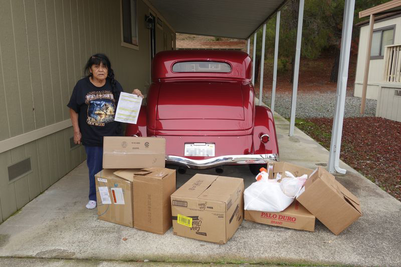 Food For Tribal Families Program, January 2018 - Mildred Burley