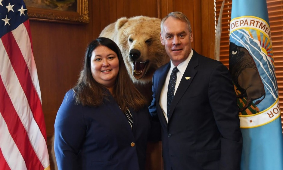 Alaskan leader Tara Sweeney becomes first female Alaska Native for assistant aecretary of Indian affairs.